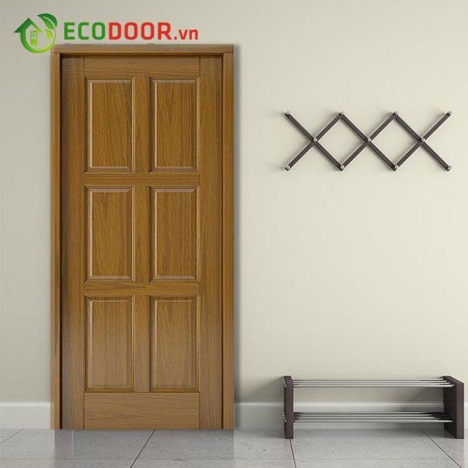 Cửa gỗ HDF VENEER 2A – WALNUT - 0933.707.707 -  0834.300.300