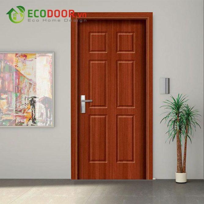 Cửa gỗ HDF VENEER 6B – SAPELE- 0933.707.707 -  0834.300.300