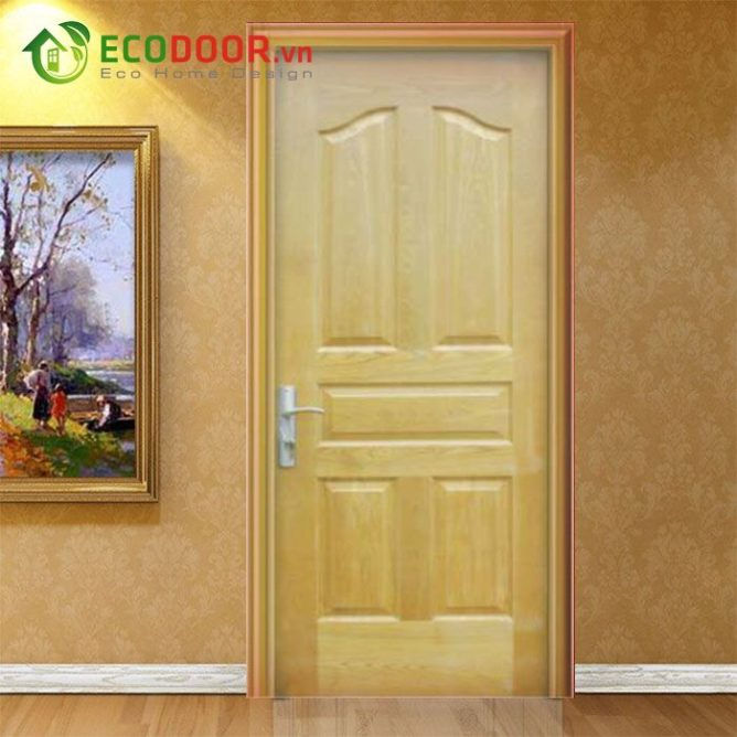 Cửa gỗ HDF VENEER 5A – ASH - 0933.707.707 -  0834.300.300