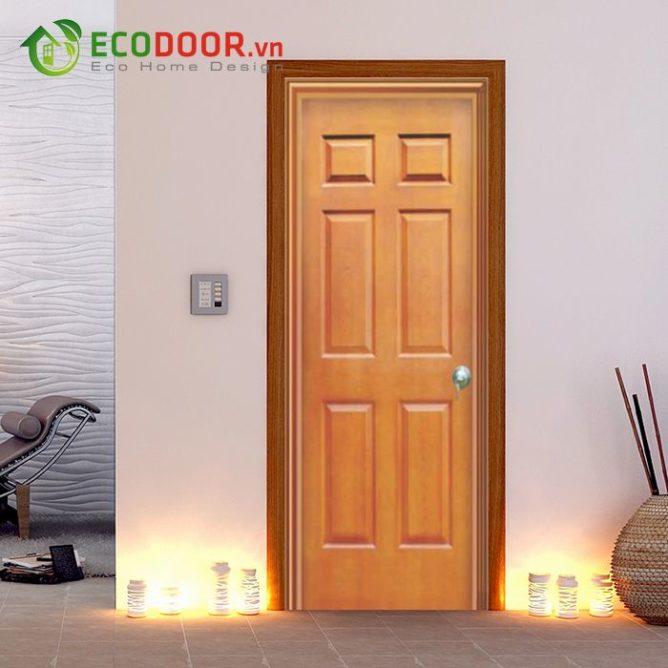 Cửa gỗ HDF FMD.6A-C8 - 0933.707.707 -  0834.300.300