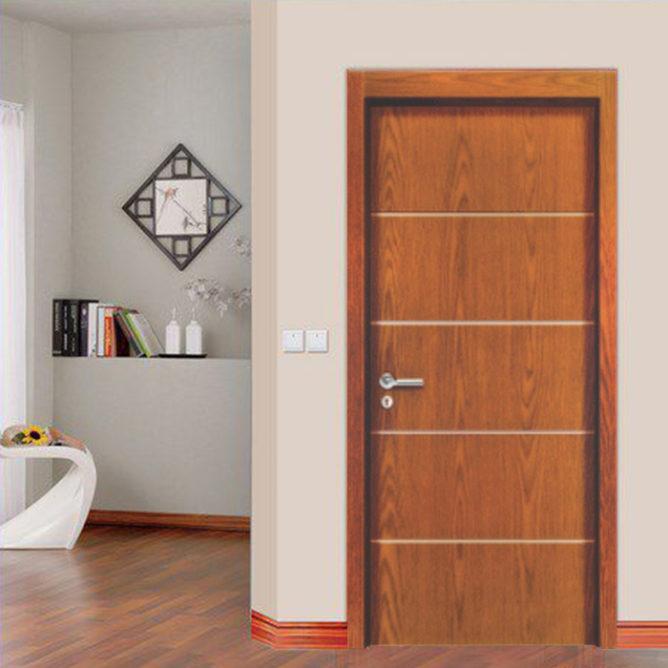 Cửa gỗ chống cháy GCC-P1R4A có tiêu chuẩn về phòng cháy chữa cháy.