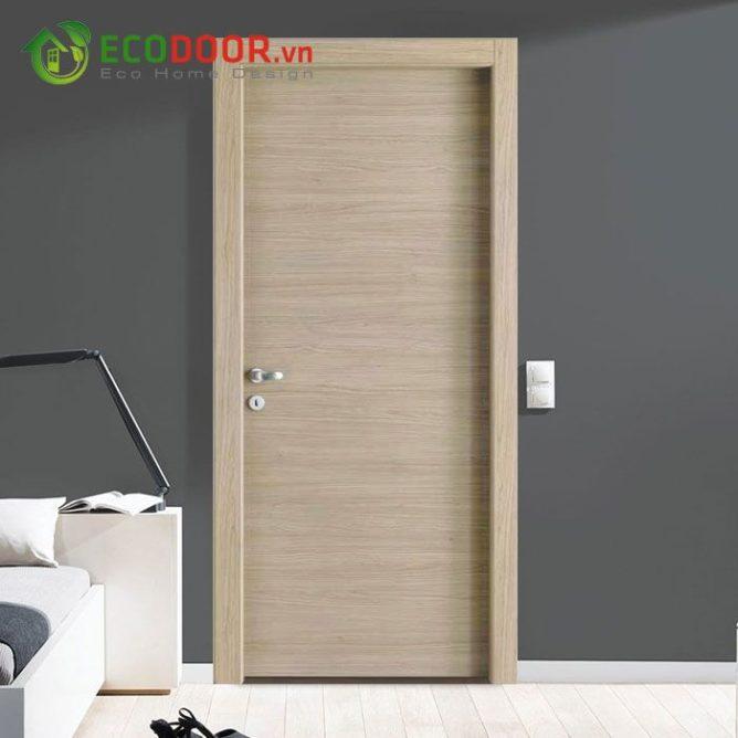 Cửa gỗ MDF MELAMINE M1N2 chịu nhiệt tốt, chống ẩm, chịu nước tốt.