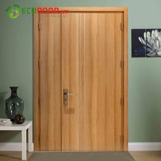 Cửa gỗ MDF MELAMINE M1D2 bền, đẹp, làm hài lòng khách hàng.