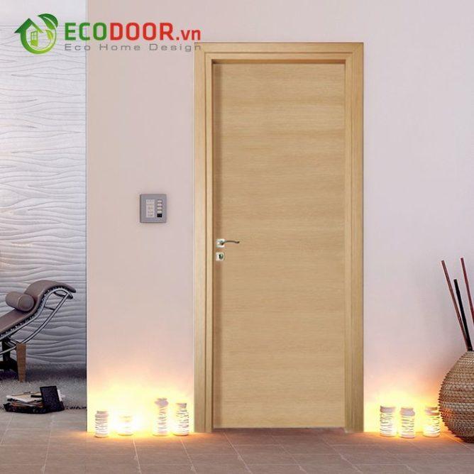 Cửa gỗ MDF LAMINATE M1-1 bền, đẹp, làm hài lòng khách hàng.