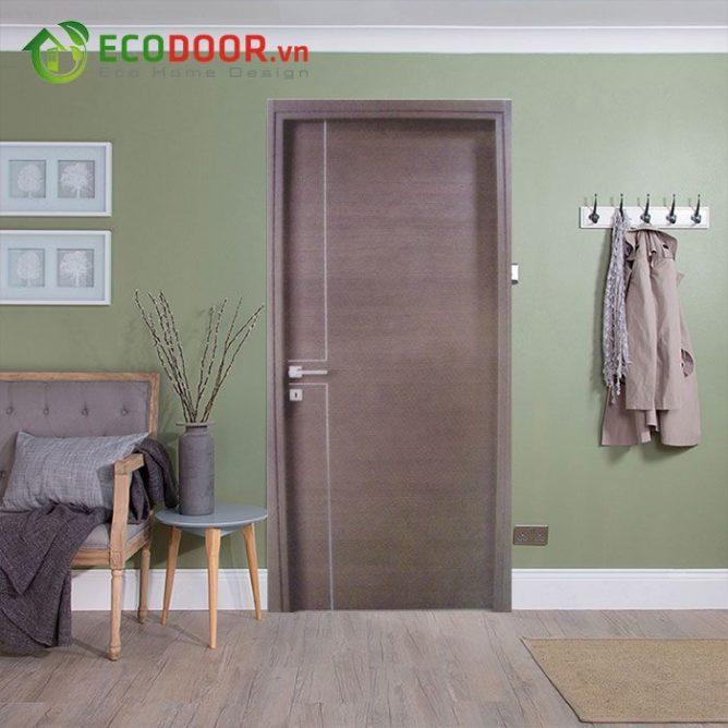 Cửa gỗ MDF MELAMINE M1R2 bền, đẹp, làm hài lòng khách hàng.