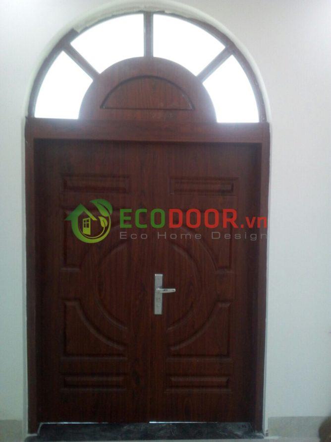 Cửa thép vân gỗ SGD 11