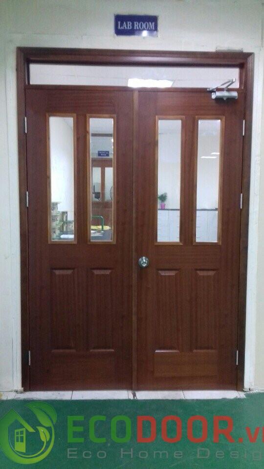 cửa gỗ công nghiệp 2 cánh