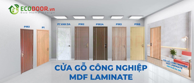 Cửa gỗ công nghiệp MDF Laminate cao cấp và sang trọng