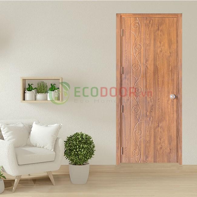 Cửa nhựa giả gỗ trang thiết bị nội thất quan trọng
