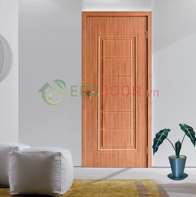 Ecodoor đơn vị báo giá cửa nhựa giả gỗ uy tín