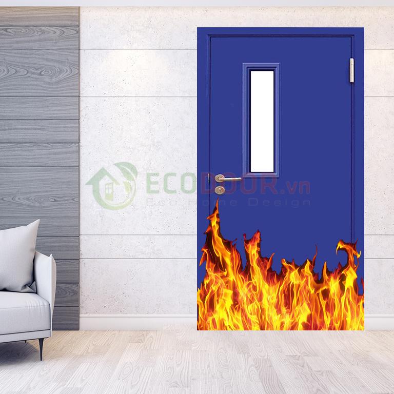 Cấu tạo cửa thép chống cháy