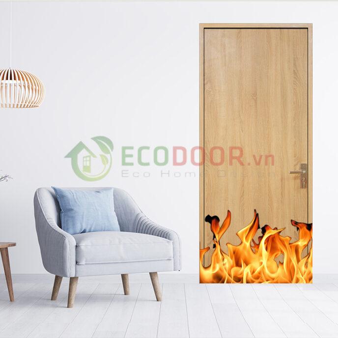 Cửa gỗ chống cháy là gì