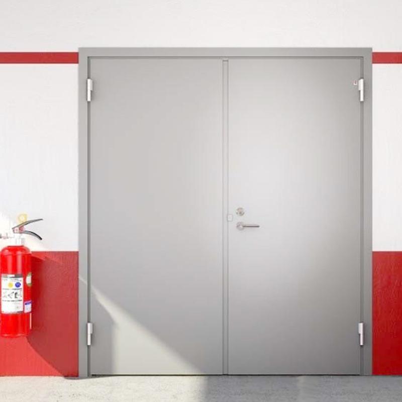 Khả năng chống cháy tốt với dòng sản phẩm cửa thép